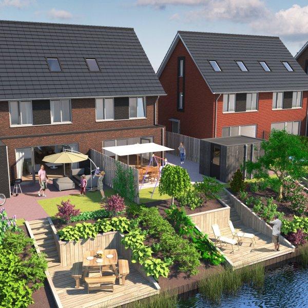 Nieuwbouwproject Wonen in de Watertuin te Zoeterwoude