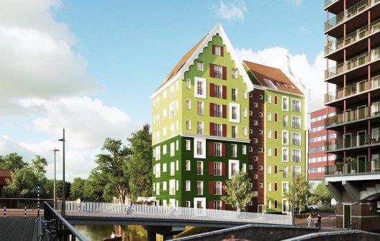 Nieuwbouwproject De Makelaar Zaandam te Zaandam
