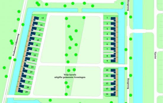 Nieuwbouwproject 't Rietcarré te Groningen