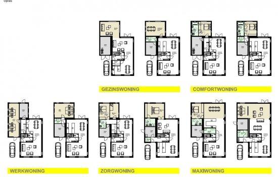 Nieuwbouwproject Ter Laan IV | 7 Gelijkvloers+ woningen te Bedum