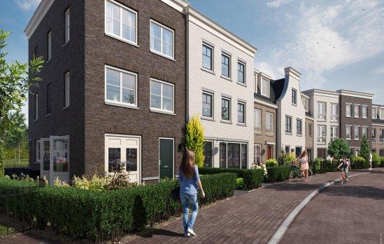 Nieuwbouwproject Aan de nieuwe Stadskade  te Gouda