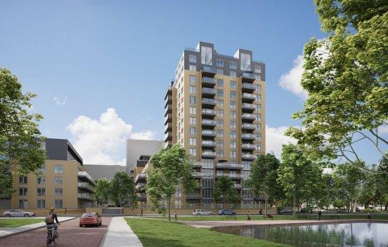 Nieuwbouwproject De Stadhouders te Den Haag
