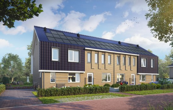 Nieuwbouwproject De Oostergast | Anserstraat en Boteinstraat te Zuidhorn