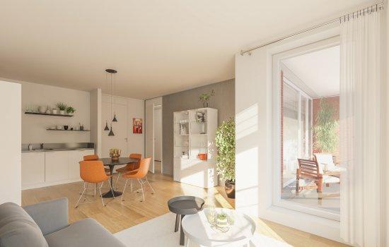 Nieuwbouwproject Leidsche Rijn Centrum   De Letna te Utrecht