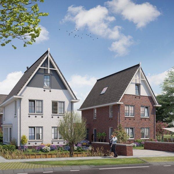Nieuwbouwproject Voor de Brug  te Driebruggen