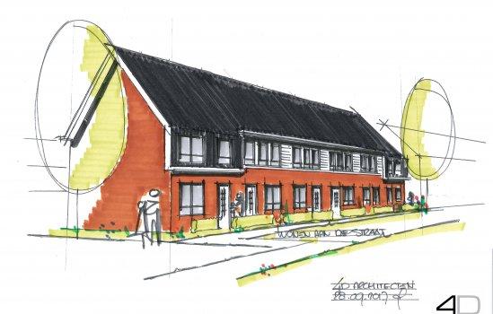 Nieuwbouwproject Wonen in de Cirkel te Hardenberg