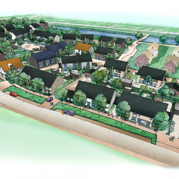Nieuwbouwproject Mooi Werkeren fase 1 te Zwolle