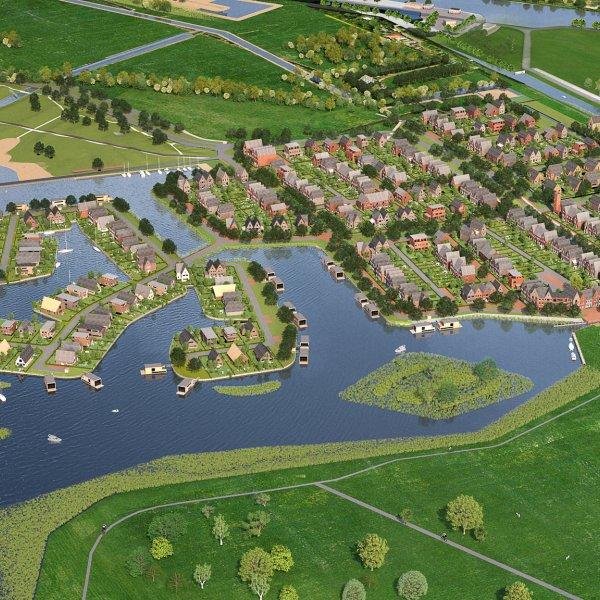 Nieuwbouwproject Wonen in Tersluis in Meerstad