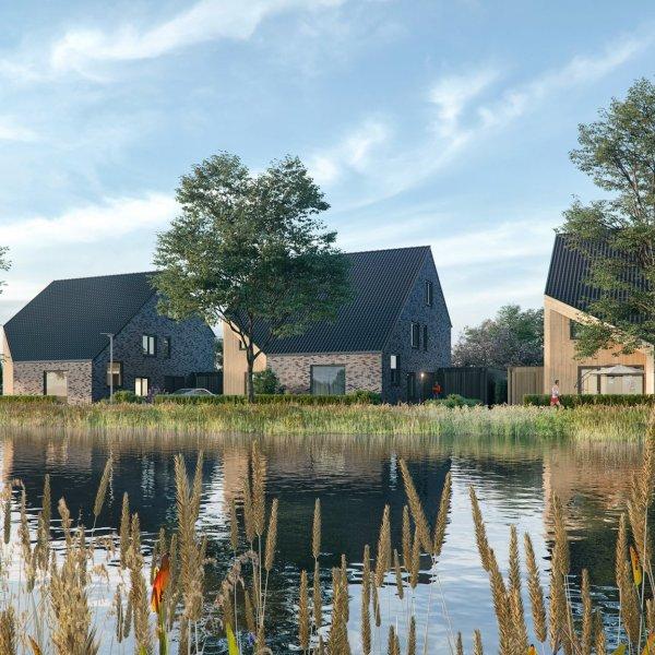 Nieuwbouwproject Watermarke Eelde in Eelde