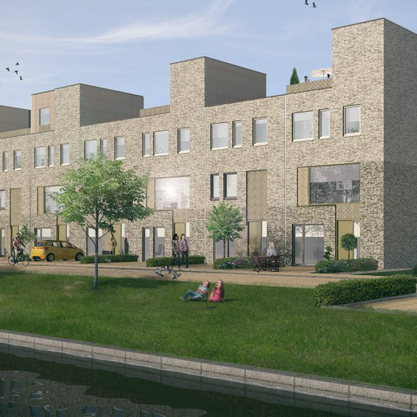 Nieuwbouwproject Stadswerf Kade   Fase 3 in Groningen