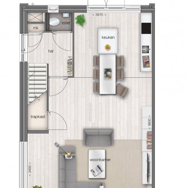 Nieuwbouwproject Polderrandwoningen | Helpermaar in Groningen
