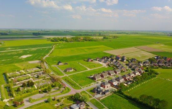 Nieuwbouwproject Oosterhuisen   11 vrijstaande woningen   4 woningtypes te Baflo