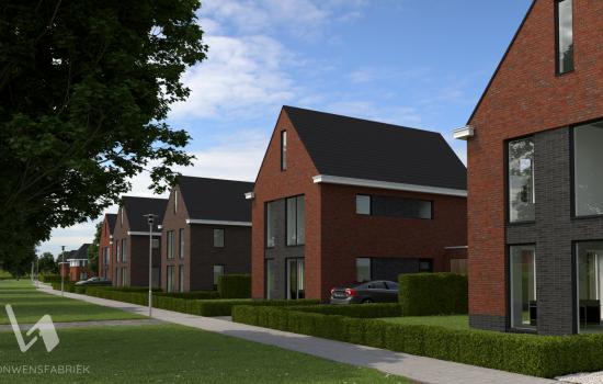 Nieuwbouwproject Oosterhuisen   vrijstaand wonen te Baflo