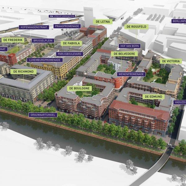 Nieuwbouwproject Leidsche Rijn Centrum | De Belvedere te Utrecht