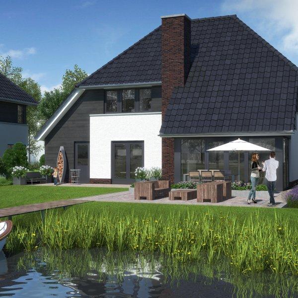 Nieuwbouwproject De Waterjuffer in Eelderwolde