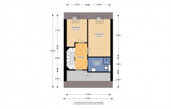 Woningtype Sauwerd in het project Groningen | Reitdiep | deelfase 4 | fase 1 en 2 te Groningen