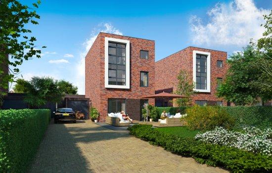 Woningtype 't Rietcarré - vrijstaand in het project 't Rietcarré fase 2 te Reitdiep, Groningen