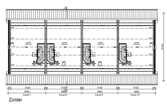 Woningtype Bosanemoon in het project Leek | Oostindie | De Hoven te Leek