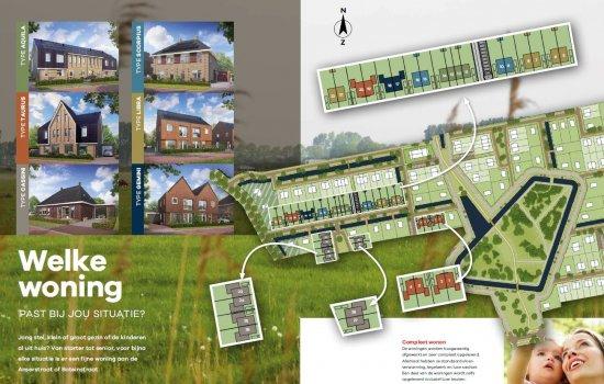 Woningtype Aquila hoekwoning in het project De Oostergast | Anserstraat en Boteinstraat te Zuidhorn
