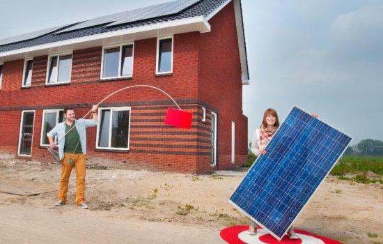 Woningtype Gemini in het project De Oostergast | Anserstraat en Boteinstraat te Zuidhorn