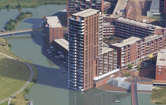 Woningtype 5-kamer appartementen in het project Eindhoven - Meerzichtappartementen te Eindhoven