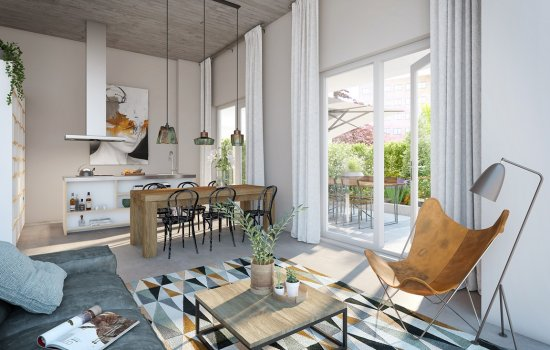 Woningtype Maisonette in het project Up-Town Zwolle te Zwolle