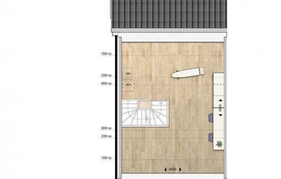 Woningtype Twee-onder-een-kap-woning in het project Waterhof Workum te Workum