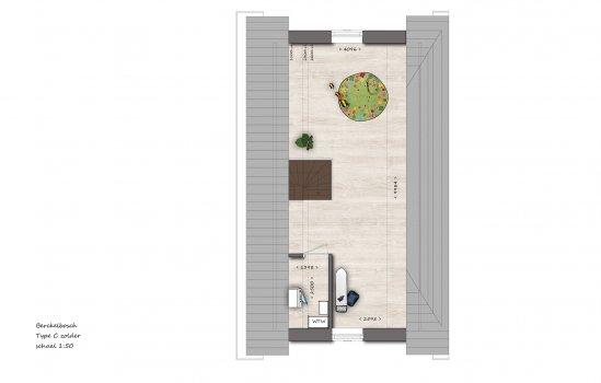 Woningtype Hoekwoningen type C2 | Berckelbosch in het project Berckelbosch deelplan 6A te Eindhoven