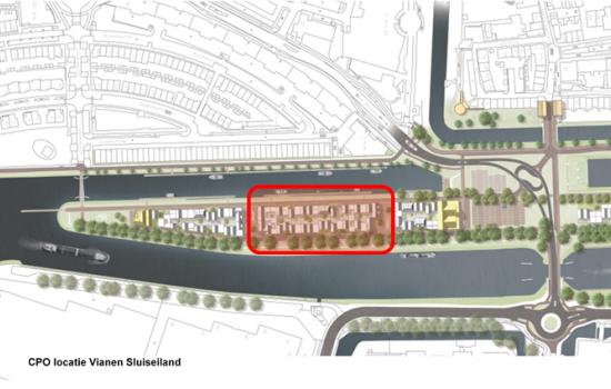Woningtype Appartementen in het project CPO Sluiseiland te Vianen