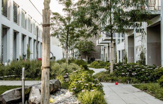 Woningtype Herenhuizen in het project CPO Sluiseiland te Vianen