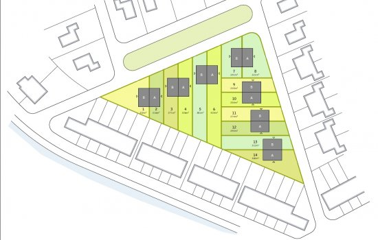 Woningtype Goudplevier - type B in het project Goudplevier te Groningen