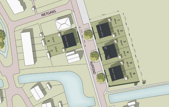 Woningtype Larvik topgevel in het project Ter Laan IV | Kuifeend te Bedum