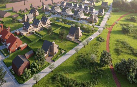 Woningtype Hertog in het project Kasteeltuinen Geldrop te Geldrop