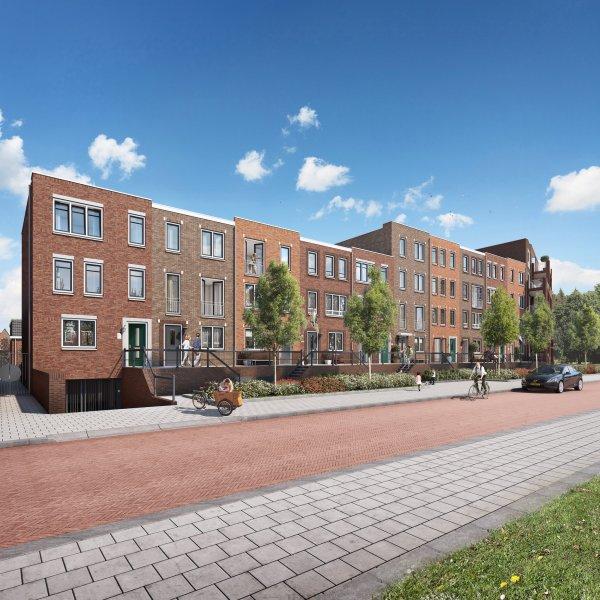 Woningtype Herenhuis - A in het project Nieuwe Havenstraat te Alphen aan den Rijn