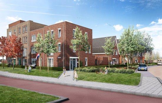 Woningtype Geschakelde Stadswoning in het project Nieuwe Havenstraat te Alphen aan den Rijn