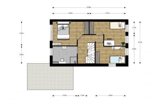 Woningtype Centaurus in het project Munster | fase 1 te Winsum