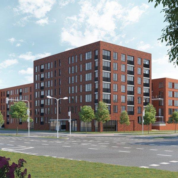 Woningtype Rijnfort   Schild (koop) in het project Rijnfort te Nieuwegein