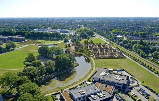 Woningtype Woolderpark twee-onder-een-kapwoningen in het project Woolderpark te Hengelo
