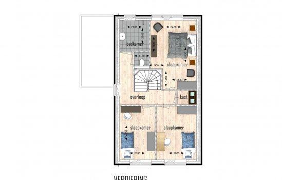Woningtype Woolderpark vrijstaande woningen in het project Woolderpark te Hengelo