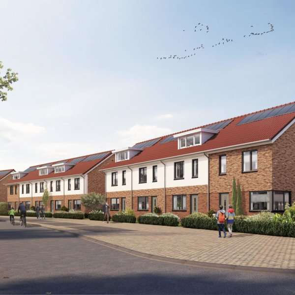 Woningtype De Saller II-B Losser - Type Brunel XL hoekwoning in het project Saller Losser te Losser