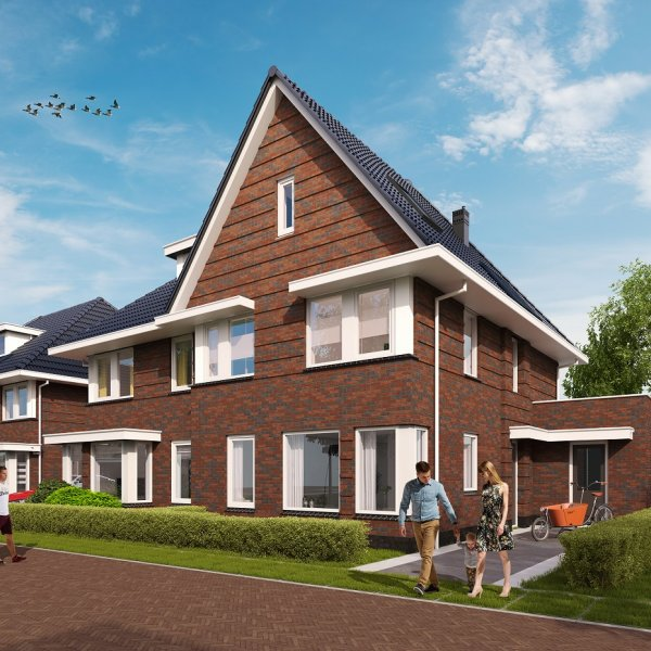 Woningtype Topper in het project Keizerhof te De Meern
