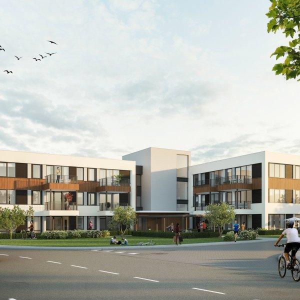 Woningtype James A in het project James Apartments te Nieuwegein