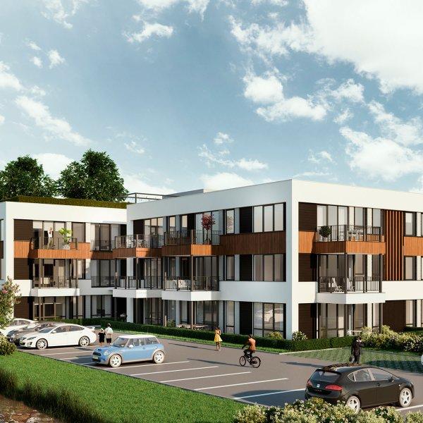 Woningtype James D in het project James Apartments te Nieuwegein