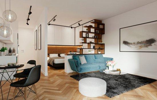 Woningtype James F in het project James Apartments te Nieuwegein