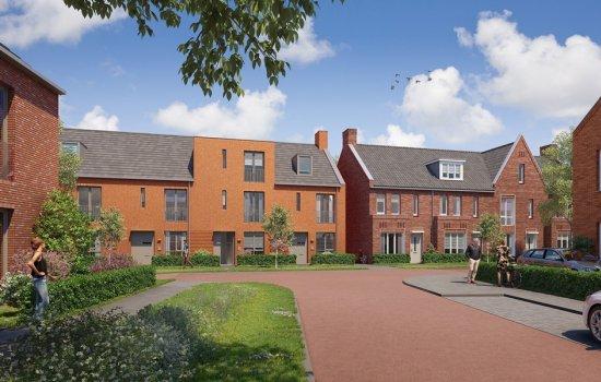 Woningtype Rij- en hoekwoningen | Woningtype B in het project Rijnvliet Midden | Fase 4A te Utrecht