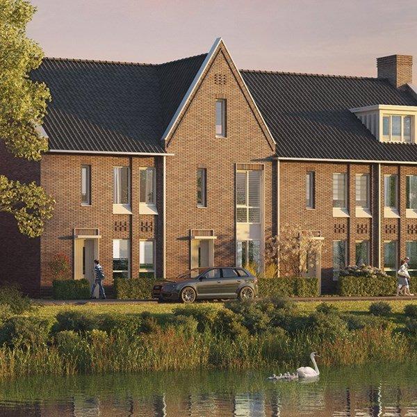 Woningtype Rij- en hoekwoningen   Woningtype P in het project Rijnvliet Midden   Fase 4A te Utrecht