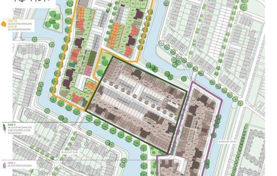 Woningtype Rijwoningen | Woningtype G in het project Rijnvliet Midden | Fase 4A te Utrecht
