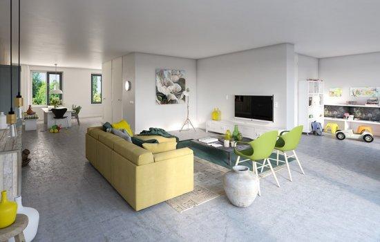 Woningtype Tweekappers | Woningtype M in het project Rijnvliet Midden | Fase 4A te Utrecht