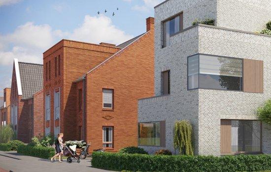 Woningtype Tweekappers   Woningtype M in het project Rijnvliet Midden fase 4 A te Utrecht