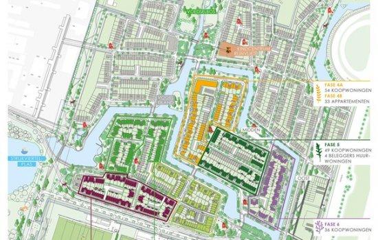 Woningtype Vrijstaande woningen | Woningtype K-L in het project Rijnvliet Midden | Fase 4A te Utrecht